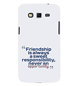EPICCASE Sweet friendship Mobile Back Case Cover For Samsung Galaxy Core Prime (Designer Case)