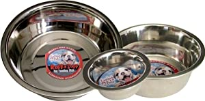 Loving Pets Standard Stainless Dish Dog Bowl from Loving Pets
