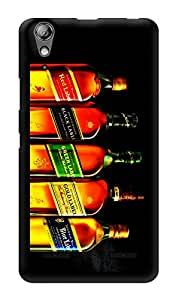 "Humor Gang Liquor Love Malt Whiskey Printed Designer Mobile Back Cover For ""Lenovo A6000 Plus"" (3D, Glossy, Premium Quality Snap On Case)"
