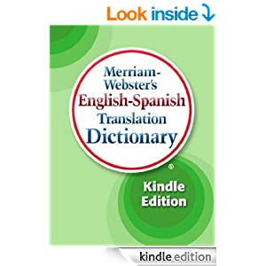Merriam-Webster's English-Spanish Translation Dictionary ... - photo#32