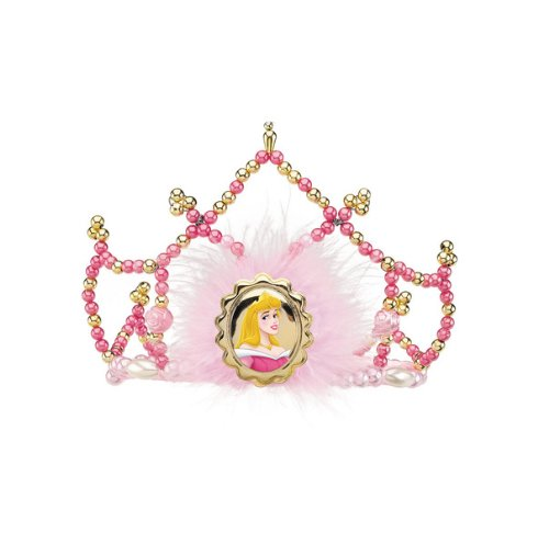 Disguise Disney Sleeping Beauty Aurora Tiara Costume Accessory, One Size Child - 1