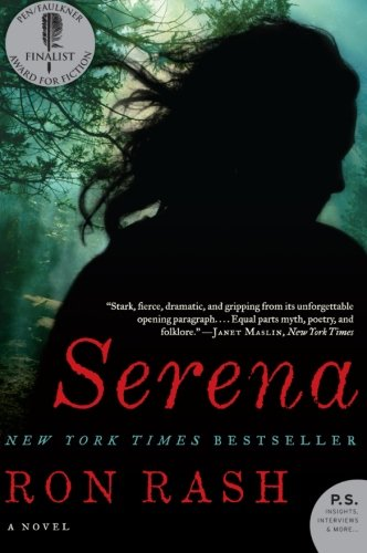 Book cover to 'Serena'