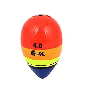 Fish Fishing Colorful Oval Plastic Shell Floating Bobber