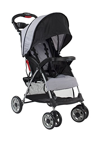 Kolcraft-Cloud-Plus-Lightweight-Stroller-Slate