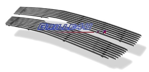 APS Polished Chrome Billet Grille Grill Insert #C65702A (2500 Hd Grill Inserts compare prices)