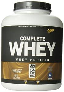 CytoSport Complete Whey Protein, Cocoa Bean, 5 Pound