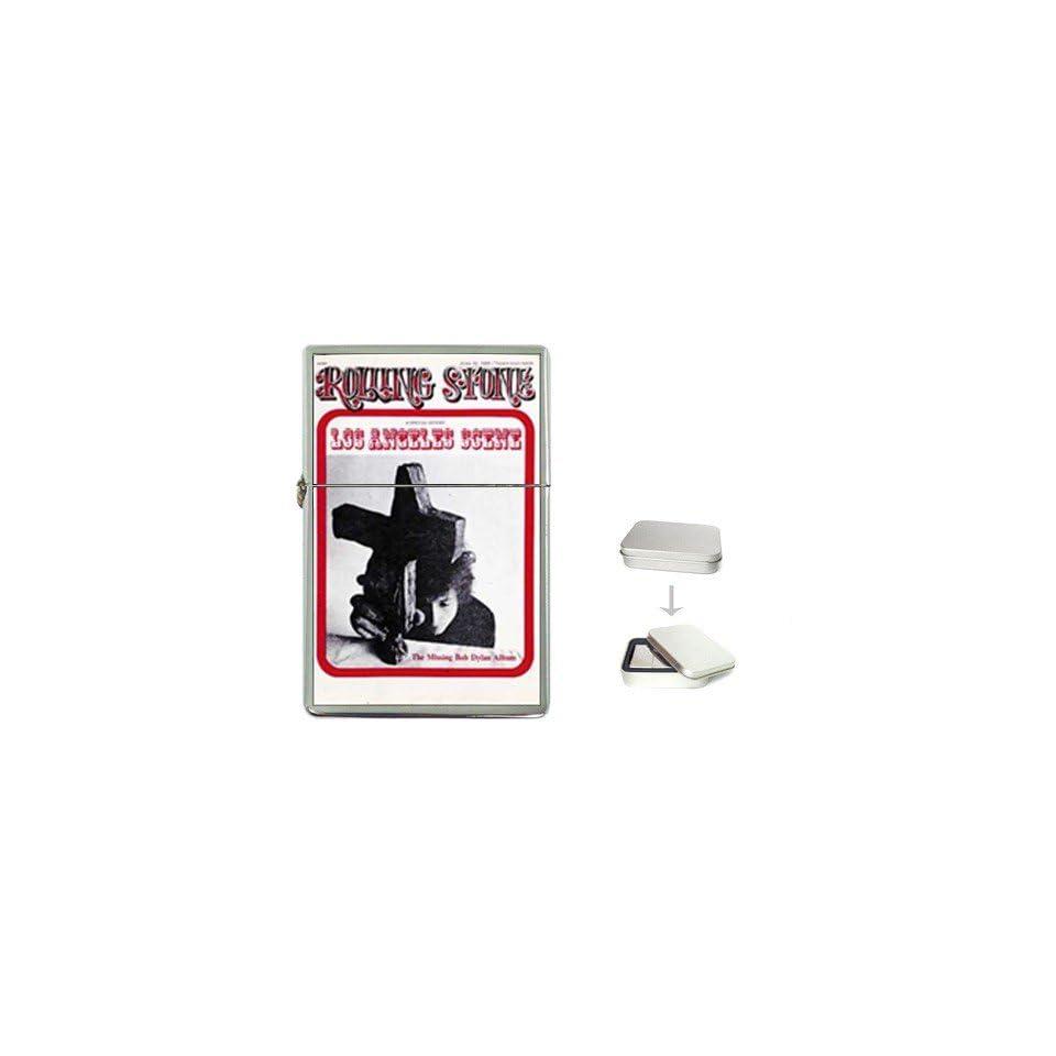 Bob Dylan Rolling Stone Cover (1968) Flip Top Lighter