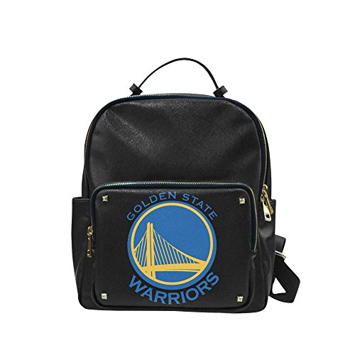 Navarro 2016 NBA Golden State Warriors GSW Logo Unisex Leisure Backpack School Leisure Shoulder Bag (Fort Wayne Indiana Shopping)