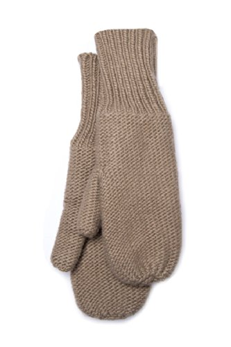 Unisex Micro Fleece Lined Knit Mitten