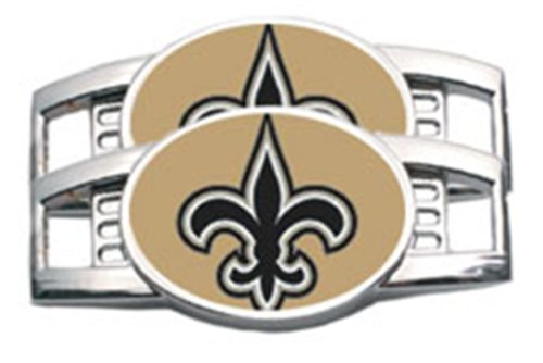New Orleans Saints Tennis Shoe Charm Set at Amazon.com