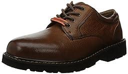 Dockers Men\'s Shelter Plain Toe Oxford,Dark Tan,12 M US