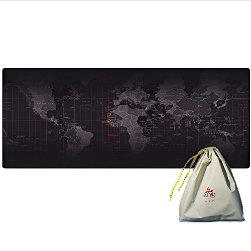 extended-world-map-mousepad-euinsmax-xxl-gaming-large-waterproof-mouse-mat-2mm-thick-315x118-mouse-p