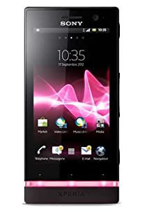 Sony Xperia U 1261-4570 Smartphone Bluetooth Wifi GPS Android 2,3 Noir/Rose