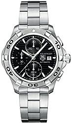 TAG Heuer Men's CAP2110.BA0833 Aquaracer Black Chronograph Dial Watch