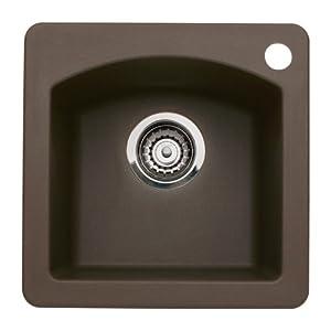 Price Blanco BL440202 Diamond Single Bowl Bar Sink, Cafe ...