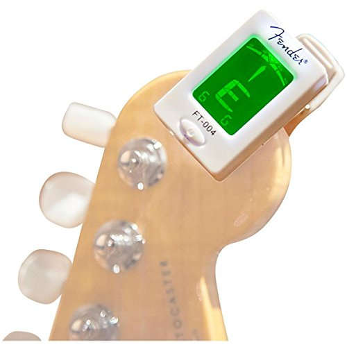 Fender FT-004 Clip-On Chromatic Tuner White (Fender Metronome compare prices)