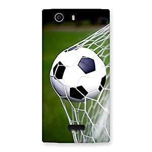 Impressive Goal Green Back Case Cover for Canvas Nitro 2 E311