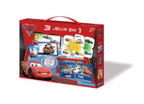 Clementoni Edupack Cars 2 - Mon Coffret Éducatif 3 En 1