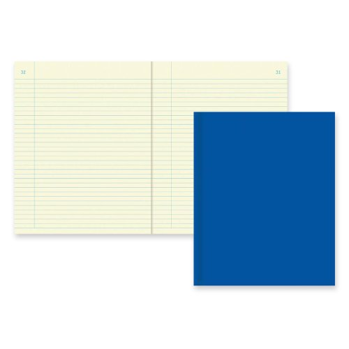 National Brand Chemistry Notebook, Narrow with Margin, Blue, Green Paper, 11 x 8.5 Inches, 120 Numbered pages. (43581) green analytical chemistry 56