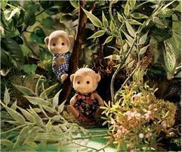 Calico Critters Mango Monkeys