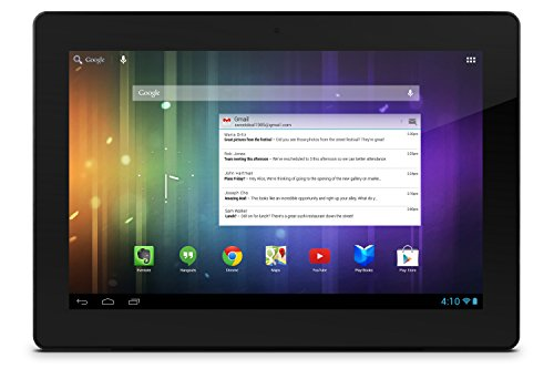 Ematic 13.3 inch HD Cinema Tab with Android 4.1, Jelly Bean \u0026 Google