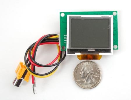 """1.5"""" Lcd Display With Composite Input For Raspberry Pi"""