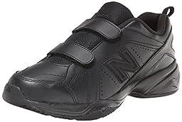 New Balance KV624 Hook and Loop Training Shoe (Little Kid/Big Kid),Black,3 Regular US Little Kid