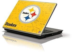 NFL - Pittsburgh Steelers - Pittsburgh Steelers - Alternate Distressed - Generic 12in Laptop (10.6in X 8.3in) - Skinit Skin at SteelerMania