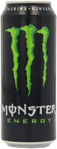 Monster Energy Can 500 ml (Pack of 8)