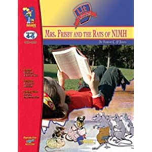 On The Mark Press OTM14201 Mrs. Frisby &#038; Rats of Nimh Lit Link Gr.4-6