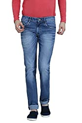 Louppee Jeans Men's Relaxed Jeans (Vkgroup-491_Mid Blue_38)
