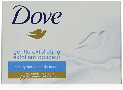 Dove Beauty Bar, Gentle Exfoliating 4 oz, 4 Bar