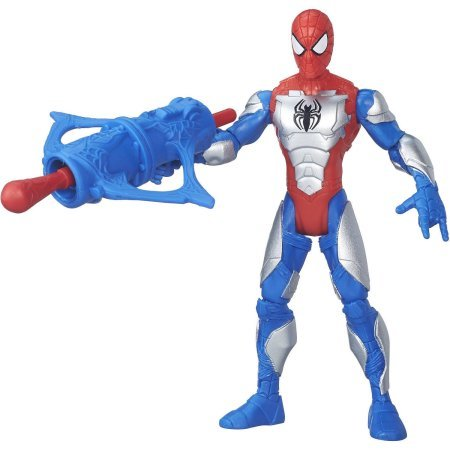 """Ultimate Spider-Man vs. The Sinister Six: Armored Spider-Man 6"""" Figure Includes launcher and projectile"""