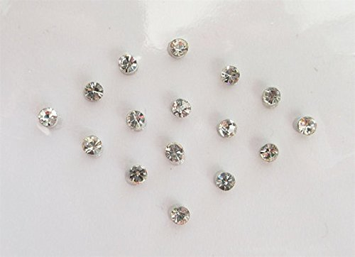 15-silver-2-mm-clear-crystals-stick-on-jewels-fake-nose-stud-costume-jewels-stone-bindis-stone-face-
