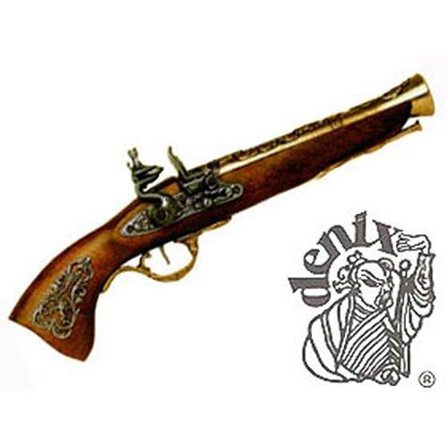 Austrian Flintlock Blunderbuss Pistol Brass