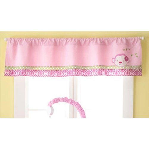 1 X Jenny McCarthy Too Good Baby 'Jungle Darlings' Window Valance