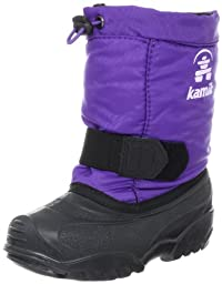 Kamik Tickle Insulated Boot (Toddler),Purple,5 M US Toddler
