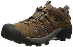 KEEN Men\'s Voyageur Shoe, Dark Earth/Gargoyle, 12 M US