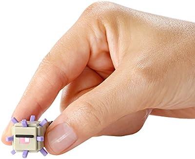 Minecraft Mini Figure 3-Pack, Elder Guardian, Sneaky Creeper & Rabbit by Mattel