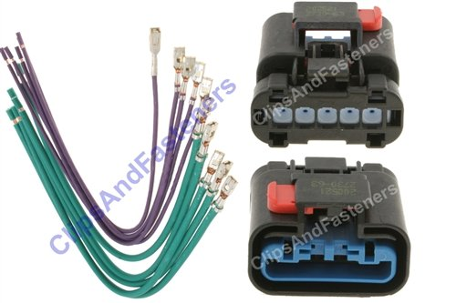 chrysler blower resistor harness repair kit 5017124ab electronics circuit components passive