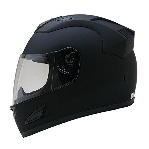 ネオライダース (NEO-RIDERS) NR-7 エアロデザイン フルフェイス ヘルメット マットブラック Lサイズ 59-60cm SG/PSC NR-7