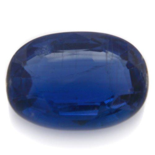 Natural Cornflower Blue Kyanite Loose Gemstone Oval Cut 3.55cts 8*11mm Stunning