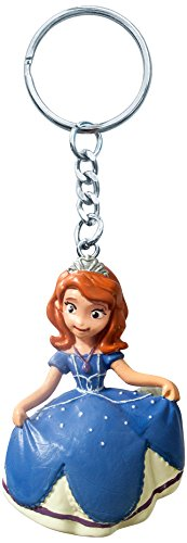 Disney Sofia PVC Figural Key Ring - 1