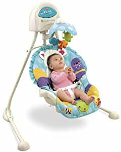 Fisher-Price Precious Planet Blue Sky Cradle 'n Swing (Discontinued by Manufacturer)