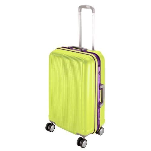 キャプテンスタッグ(CAPTAIN STAG) グレル トラベルスーツケース TSAロック付きHFタイプ L アップルグリーン UV-13
