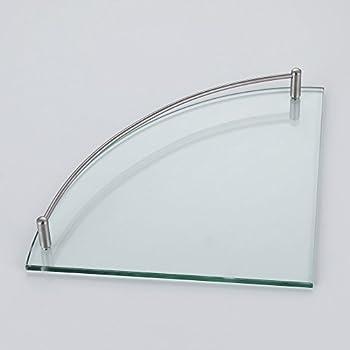 Glass Corner Shower Shelf
