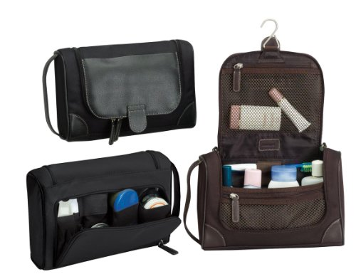The Steward Travel Vacation Shave Kit-black