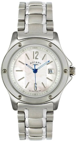 Rotary Ladies Steel Bracelet Watch LB02565/07