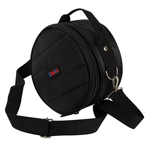 Khanka Case Carrying Travel Storage Bag for HyperX By Kingston Cloud Game Gaming Headset Headphones. Mesh pocket for other accesories - Black
