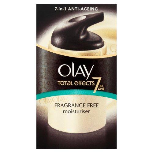 Olay Total Effects 7-in-1 Fragrance Free Moisturiser 37 ml (Packaging Varies)